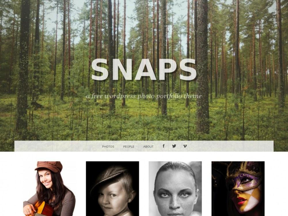 Snaps WordPress Theme | Graph Paper Press