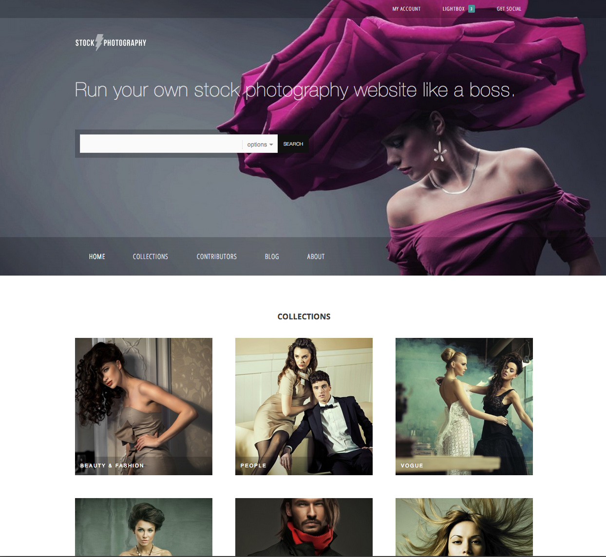 Introducing the Stock Photography theme for WordPress