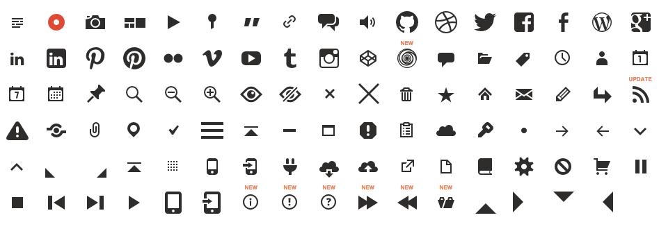 shortcode-flat-icons-genericons