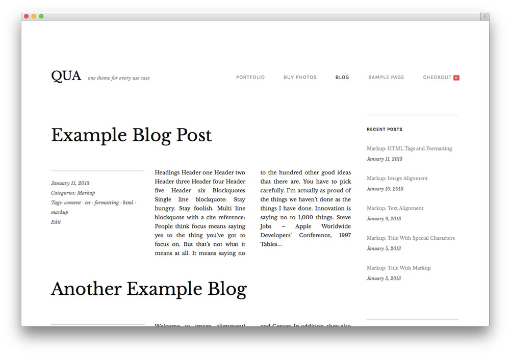 qua-wordpress-theme-blog