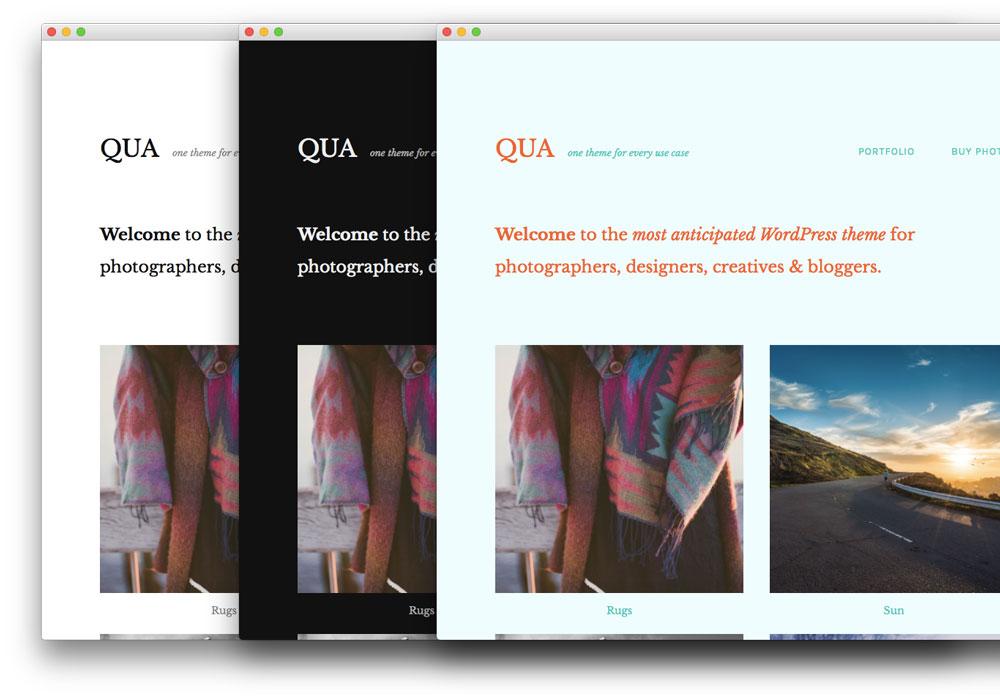 qua-wordpress-theme-colors