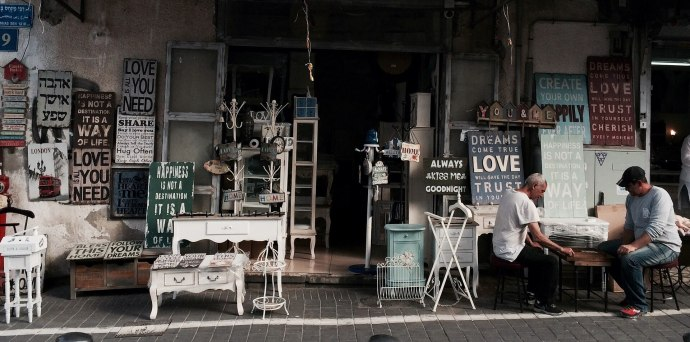 An open shop front.
