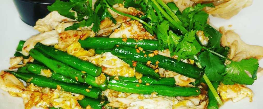Green bean chicken image