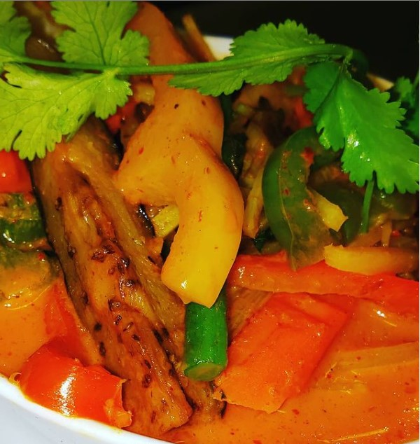 Red Curry - close up
