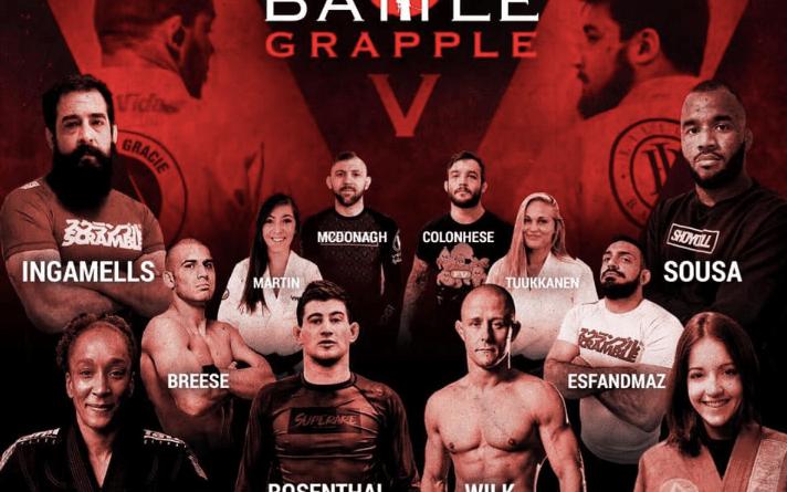Battle Grapple poster