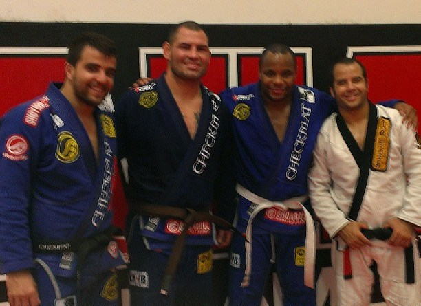Daniel Cormier Went From White Belt Straight to Brown Belt