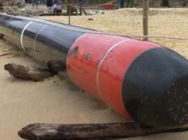 A Vietnamese Fisherman Caught Chinese Torpedo Yu-6