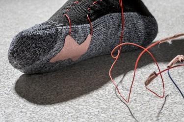Wearable sensor Foot