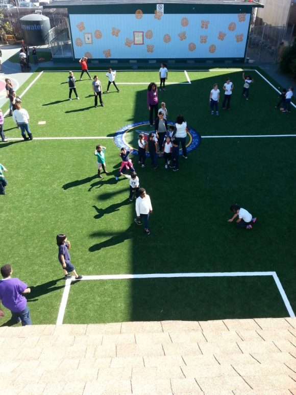 Marshall Elementary School SF March 2015 using Grass Tex AT755