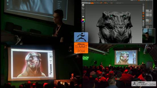 ZBrush Summit 2014 live demo