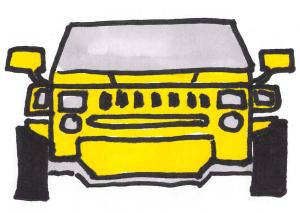 illustration - hummer
