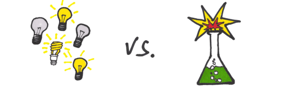 Generative Research vs. Evaluative Experiments