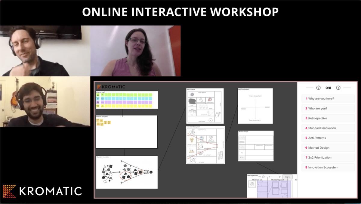 Online interactive workshop presented by Tristan Kromer
