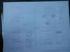 Paper wireframe 1