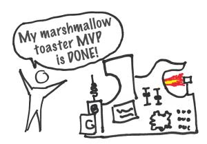 Marshmallow toaster MVP