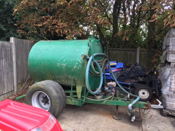 Water Bowser  £2150+VAT
