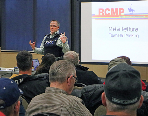 RCMP answers concerns of rural residents at meeting