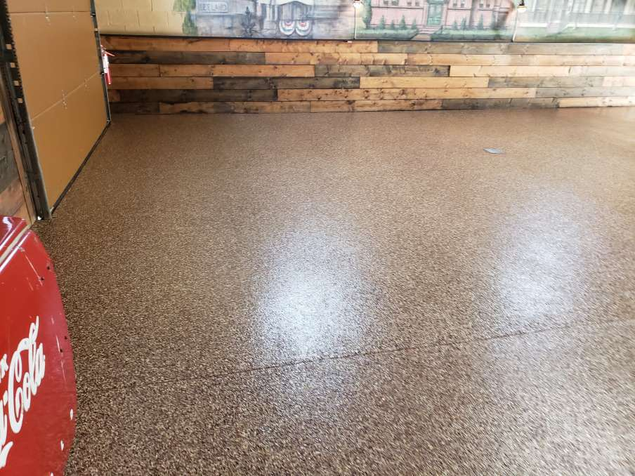Preparing your space for your new concrete coating
