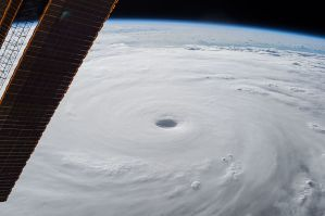 Super Typhoon Hitting East Asia