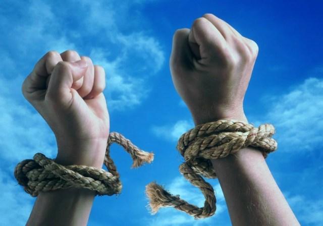порвал оковы свобода