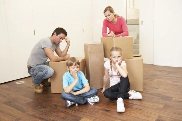 семья переезжает фото