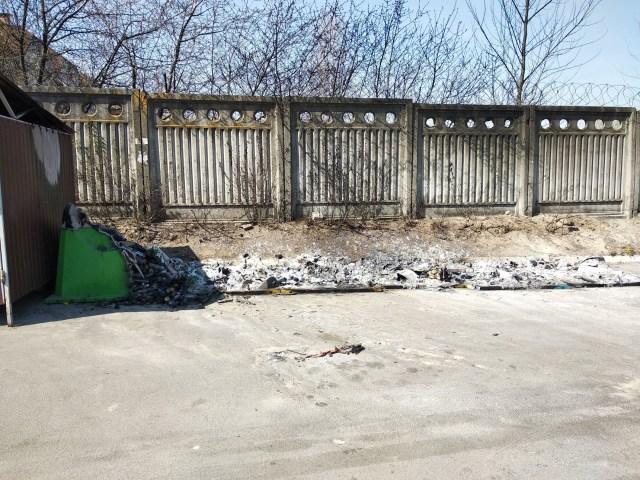 борьба за мусор конкуренты сожгли контейнеры