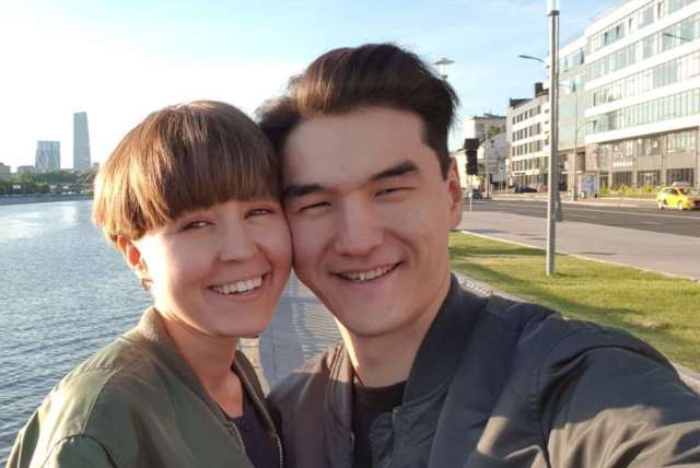 нурлан сабуров и жена