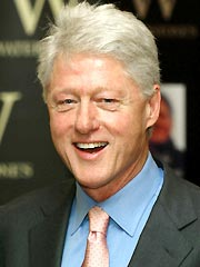 Bill Clinton's on the mend.