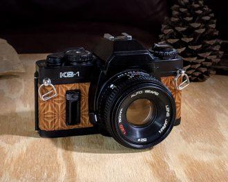 Sears KS-1, wood film camera, sears wood camera