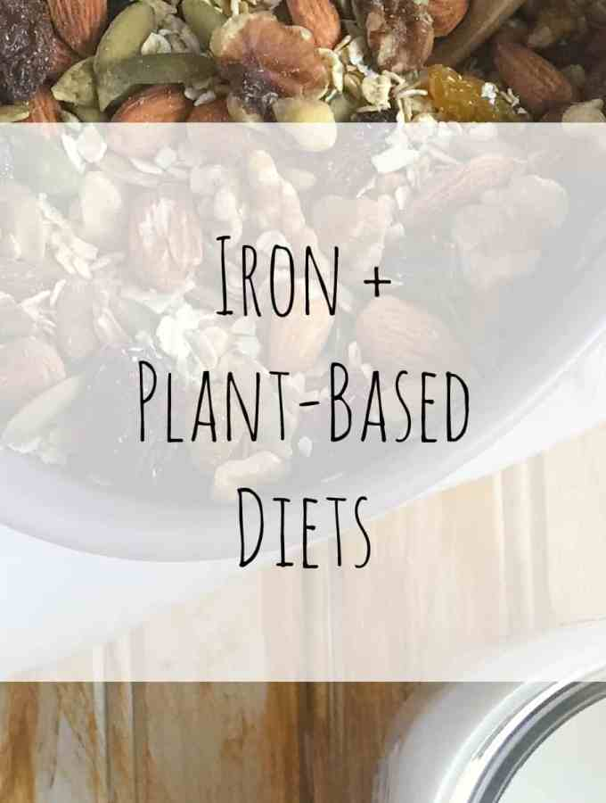 Iron + Plant-Based Diets