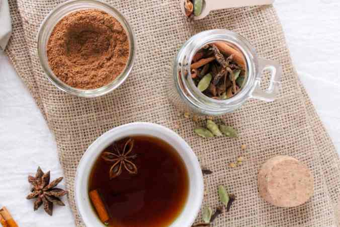 This DIY Chai Spice Mix is a simple homemade holiday gift that the foodie or tea-lover in your life will go crazy for. Use in tea, baked goods, + more!