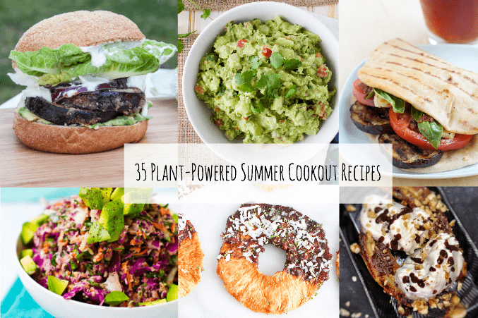 35 plant-powered summer cookout recipes from The Grateful Grazer