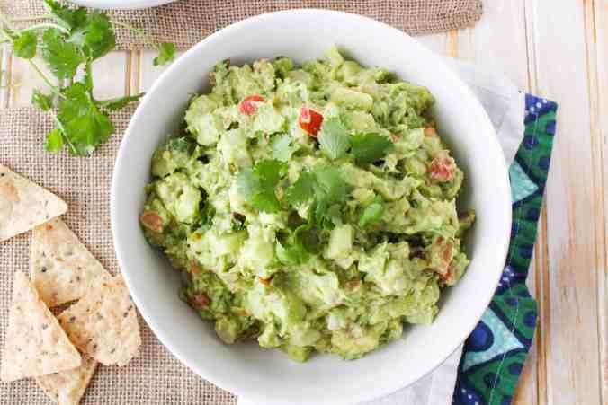 Spicy and crunchy! Habanero Jicama Guacamole