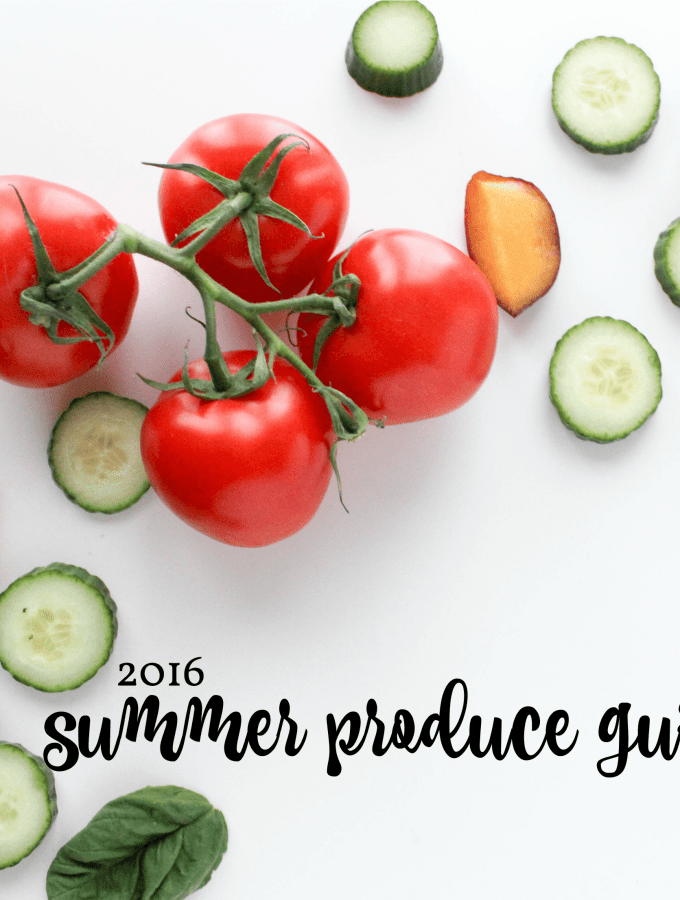 2016 Summer Produce Guide