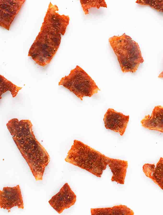 Smoky & Spicy Chipotle Tofu Jerky
