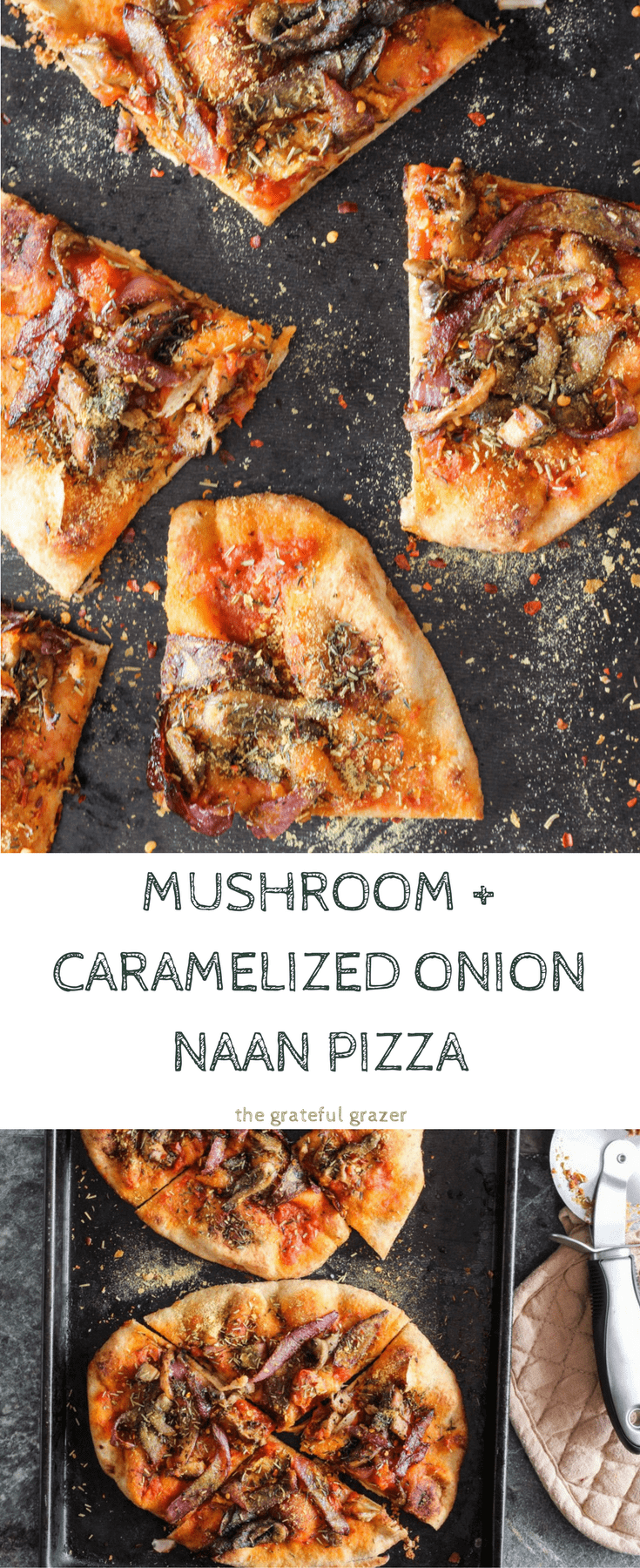 Vegan naan pizza is a healthy, fun, and delicious weeknight meal that the entire family will love. Plus, a free plant-based cookbook!