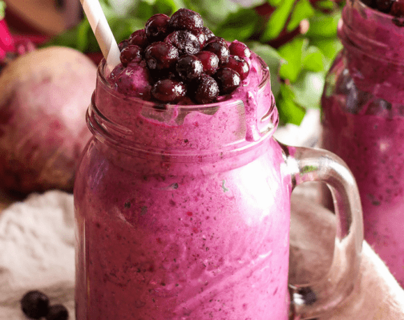 Add an extra serving of veggies with this @WildBBerries Beet Smoothie! #WildYourSmoothie