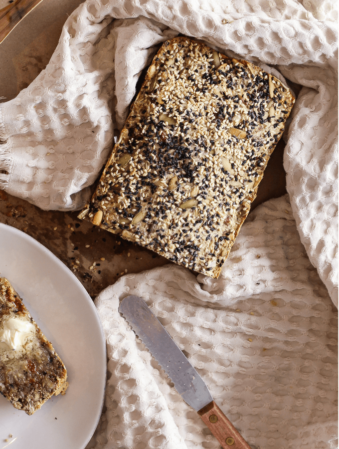 Hearty Cherry Sesame Seed Bread