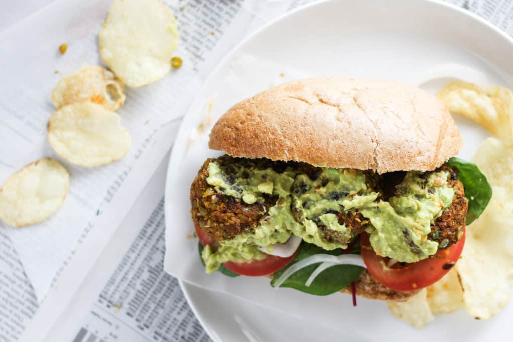 Split Pea Po Boys are easy to make and filled with delicious cajun flavors! Try this New Orleans-inspired plant-based sandwich recipe for lunch or dinner.