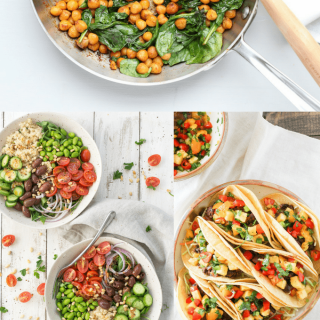 10 fuss-free, vegetarian ideas for simple and satisfying weeknight meals. These easy cleanup meals help you savor every bite without fear of dish duty.