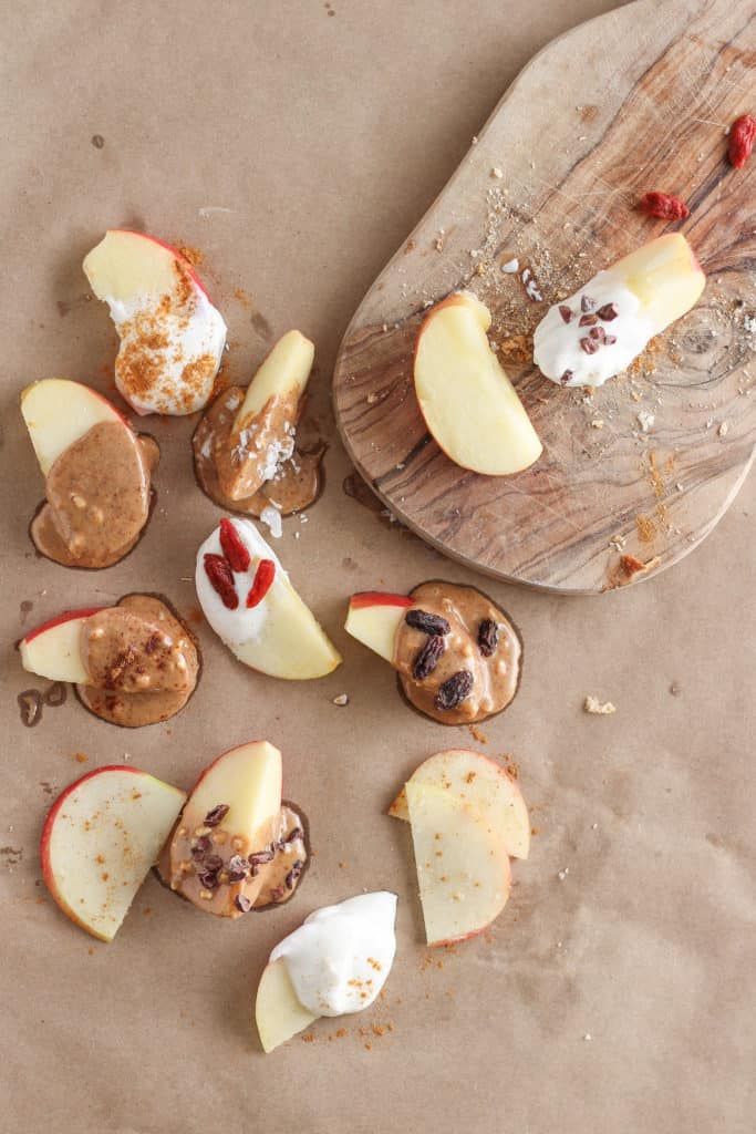 "Who says you need to eat a ""proper meal,"" anyway? These healthy snack ideas are ready in about five minutes and perfect for those days when you're not in the mood to cook."