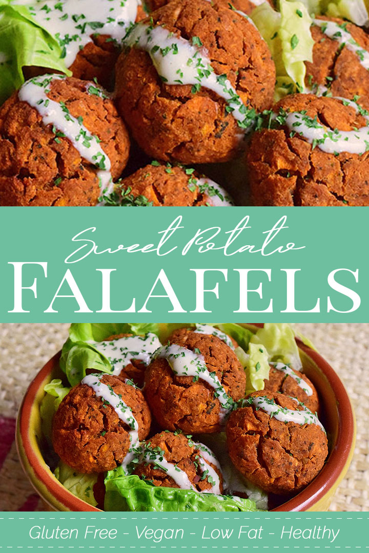 Baked Sweet Potato Falafel Recipe