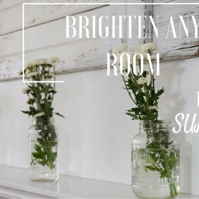 My 3 Best Tips to Brighten Your Home for Summer-A Bloggers Tour
