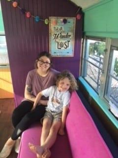 inside bus kids