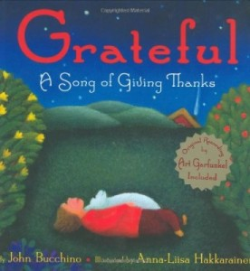 Grateful A Song of Giving Thanks book cover