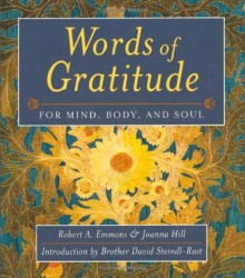 Words of Gratitude book cover