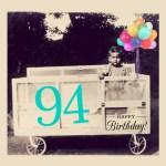 Happy 94th Birthday to Brother David!