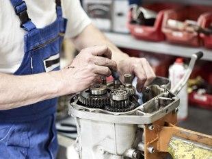 Instandsetzung eines Getriebeschadens einer K100