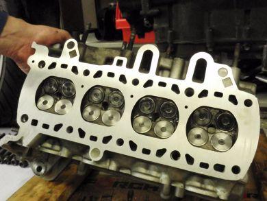 Zylinderkopf K1100, geplant