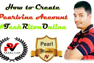 #Pearlvine #AutoPool How to Create Pearlvine Account Bangla Pearlvine #TechRitonOnline